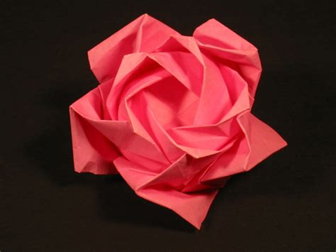 origami roses zing origami objects and things