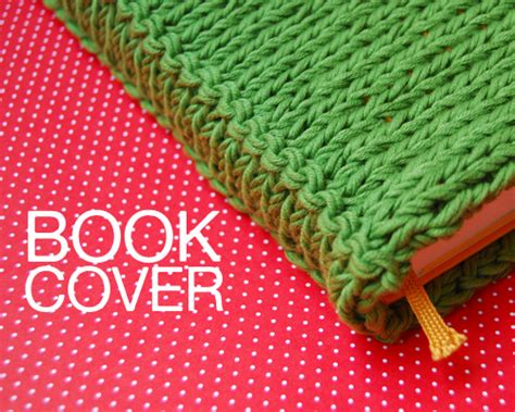 knitted book cover pattern free free pattern book cover the
