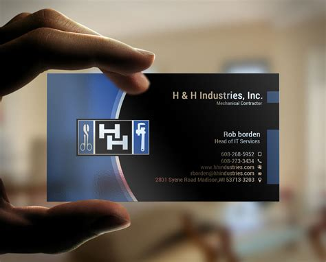 what company makes cards bold serious business card design design for rob borden