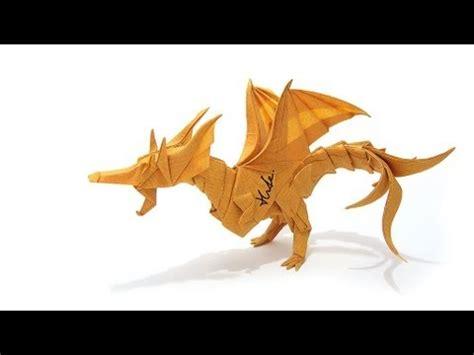 origami fiery origami fiery ver 2 摺紙噴火飛龍第二版 kade chan