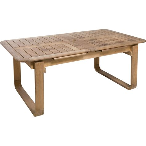 table jardin en bois ekipia
