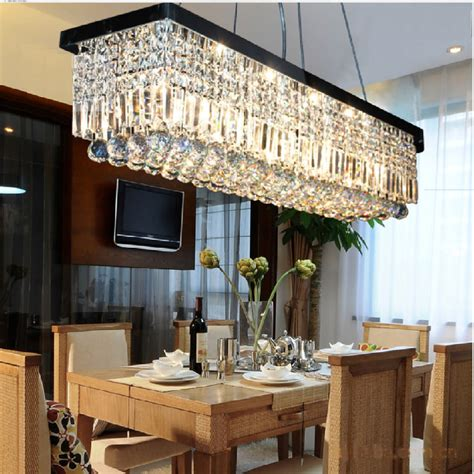 rectangular dining room chandelier 24 rectangular chandelier designs decorating ideas