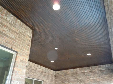 B Board Ceiling by Bead Board Ceiling With Marine Varnish 11303 Sardinia