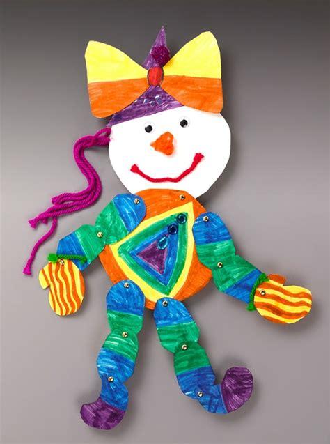 clown crafts for around clown craft crayola
