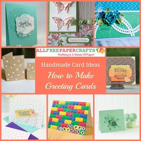 how to make greeting cards from photos all occasion card allfreepapercrafts