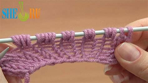 knitting increase purl stitch increase knit 1 yarn knit 1 tutorial 8 part 9 of 14