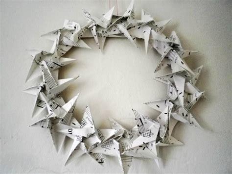 origami wreaths origami wreath reanimators