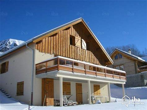 chalet for rent in a hamlet in jean d arves iha 16089