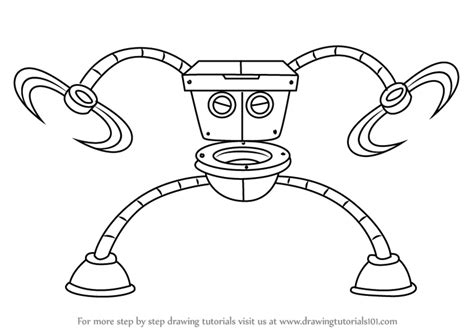 how to draw a toilet step by step how to draw robo toilet 30000 from