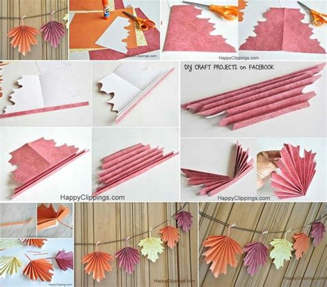paper leaves craft paper leaves cool crafts diy