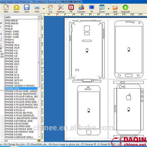 phone skin design software daqin diy custom skin cell phone design software for any