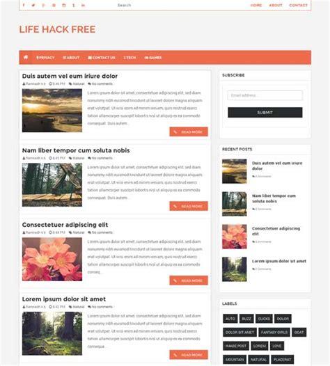 78 free responsive blogger templates 2016 freshdesignweb
