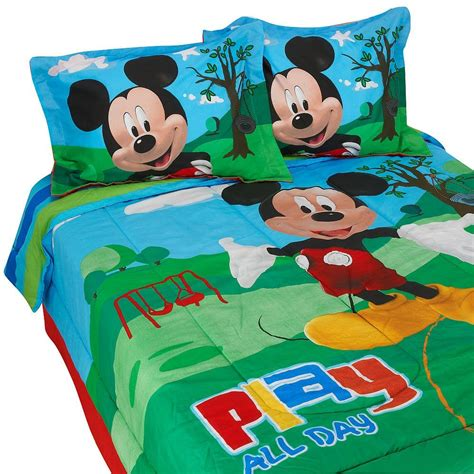 size mickey mouse comforter sets cutest mickey mouse bedding for and adults