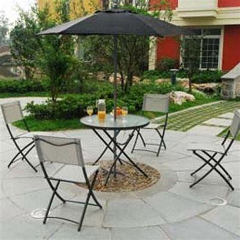 folding patio furniture set the best 28 images of folding patio furniture sets