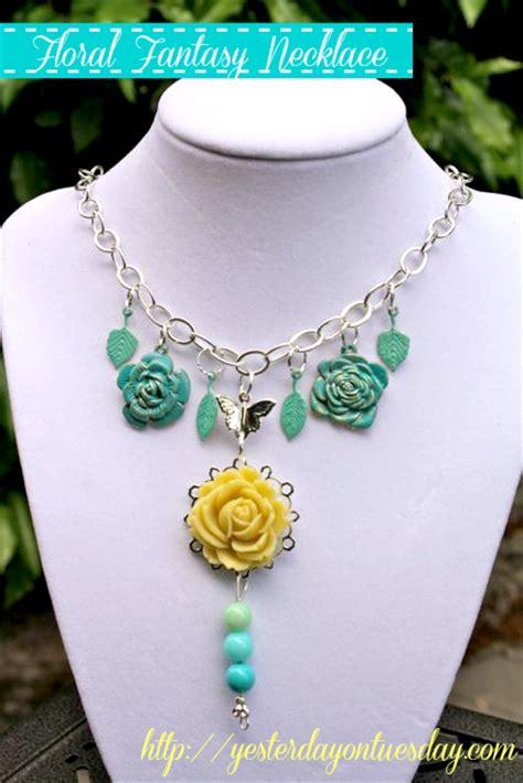 martha stewart jewelry floral necklace with martha stewart jewelry