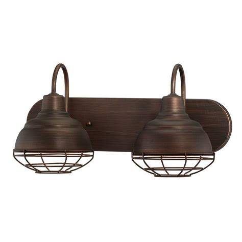 2 light bathroom vanity light millennium lighting 5422 neo industrial 2 light bathroom