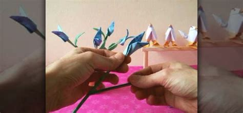 origami bird of paradise flower how to origami realistic birds of paradise flowers 171 origami