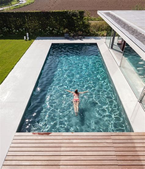 modern house with pool impressive design of a modern glass and concrete pool