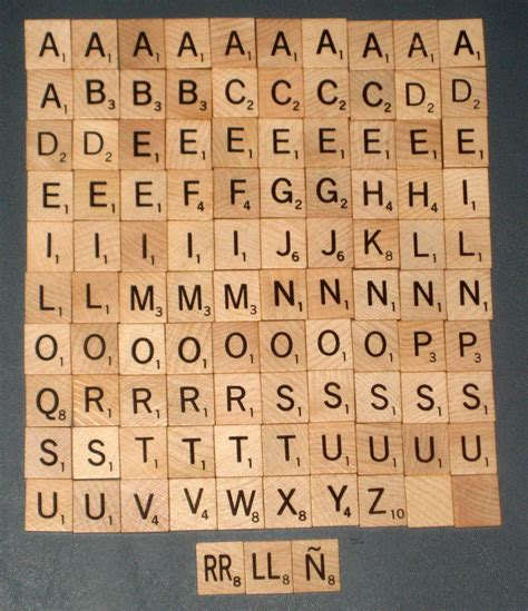 scrabble letter replacement sold 103 wood scrabble replacement tiles