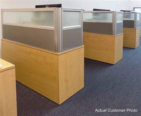 office desk privacy panel 24 quot h desk mount privacy panel series 24 quot w x 24 quot h panel