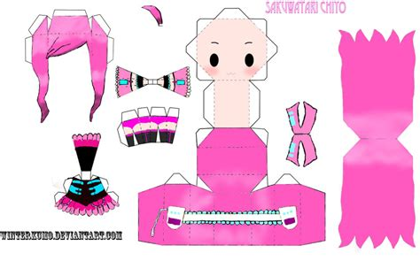 paper craft templates paper crafts anime templates and