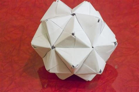 origami written modular origami how to make a cube octahedron