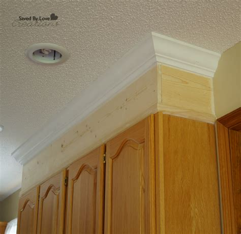 crown molding kitchen cabinets diy kitchen cabinet upgrade with paint and crown molding