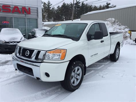 2011 Nissan Titan by Used 2011 Nissan Titan Sv In Kentville Used Inventory