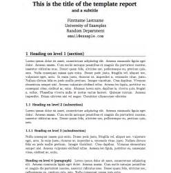best photos of report writing template technical report