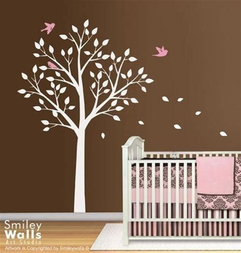 vinyl wall decals nursery tree and birds vinyl wall decal for nursery room