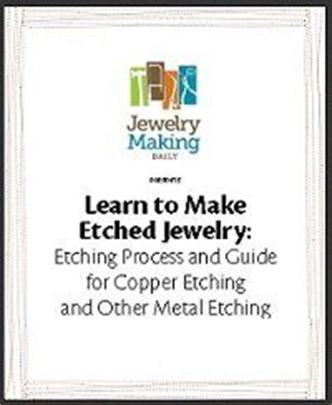 learn to make jewelry 17 best images about metal etching and enamel on