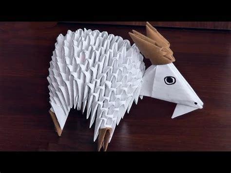 3d origami sheep 3d origami shaun the sheep sheep ewe ram tutorial doovi