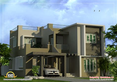 modern duplex house plans modern duplex home design 1873 sq ft indian house plans