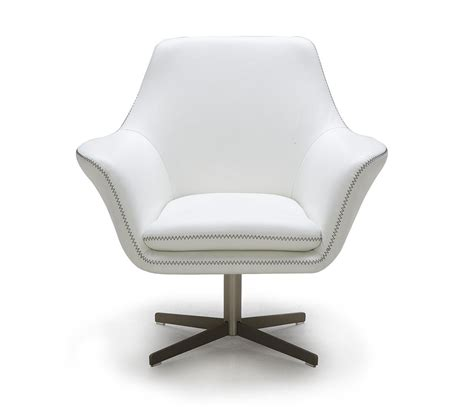 swivel modern chair dreamfurniture divani casa a 832 modern leather