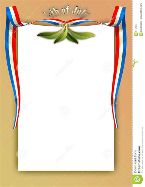 4th july template 18 royalty free stock photography