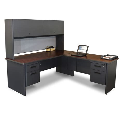 office desk with hutch l shaped marvel prnt6 marvel pronto right l shaped desk with