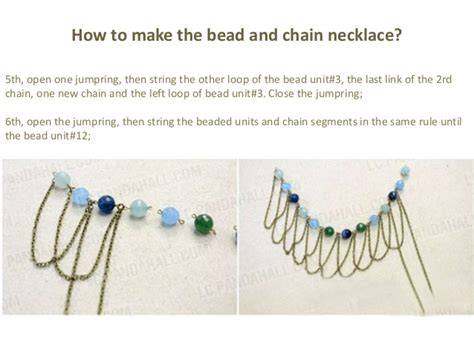 how to make beaded fringe 3 easy steps of a chic bead and chain fringe necklace