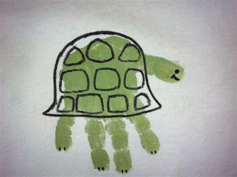 turtle crafts for sea turtle handprint crafts
