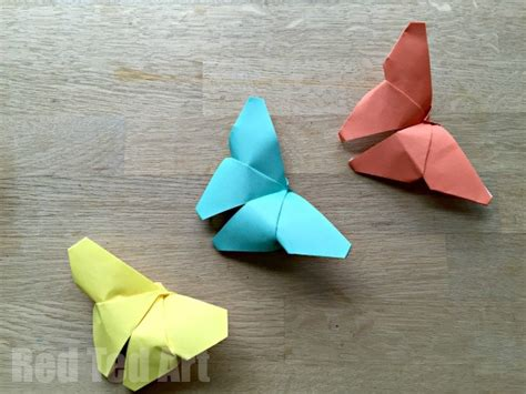 origami crafts for 35 butterfly crafts ted s