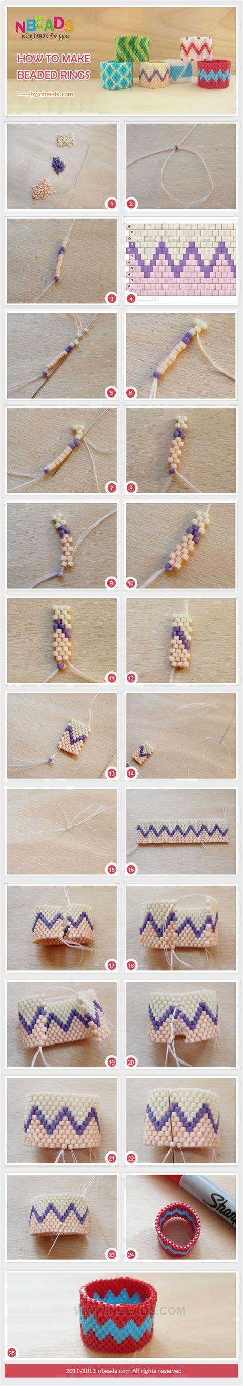 How To Make Beaded Rings Nbeads