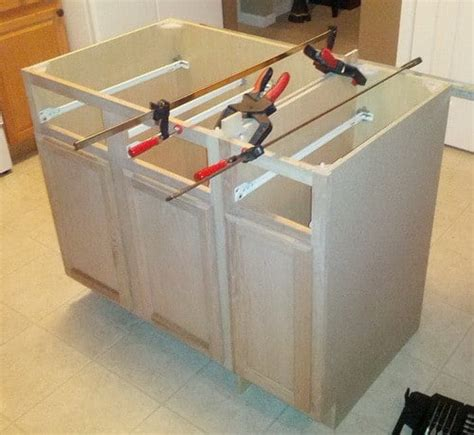 do it yourself kitchen islands how to make a diy kitchen island and install in your kitchen removeandreplace