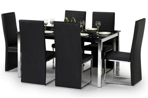 black and chrome bedroom furniture toronto black chrome dining set sale now on your price