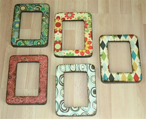 decoupage picture frame easy decoupage frames favecrafts