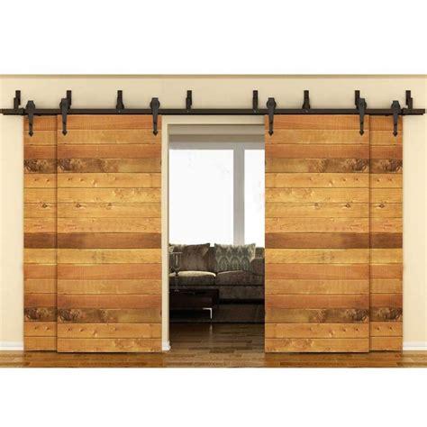 bypass sliding barn door hardware winsoon modern 4 doors bypass sliding barn door hardware