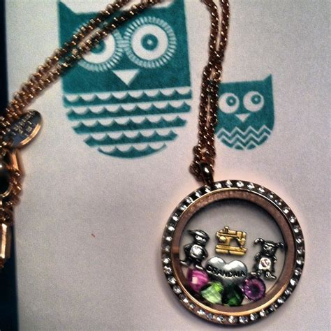 origami owl large gold locket with crystals pin by werre on werre independent designer