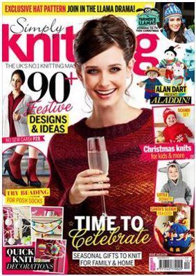 simply knitting santa s sleigh ride tea cosy knitting pattern