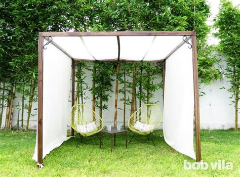 backyard canopy ideas best 20 backyard canopy ideas on deck canopy