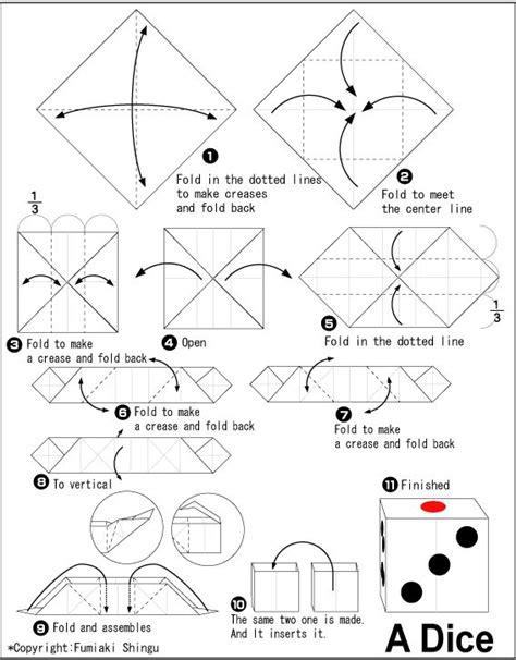 Origami Dice Origami