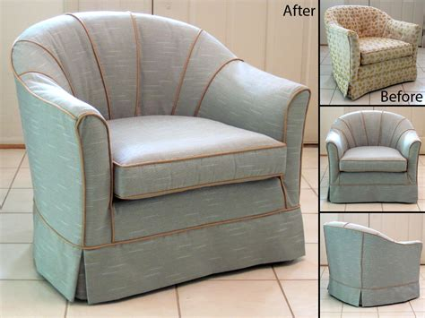 Chair For by Simple Barrel Chair Slipcovers Homesfeed