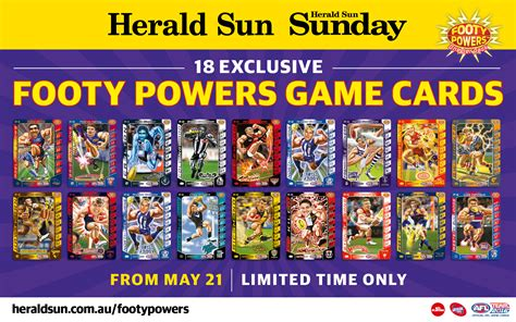 make your own footy card afl herald sun ask home design